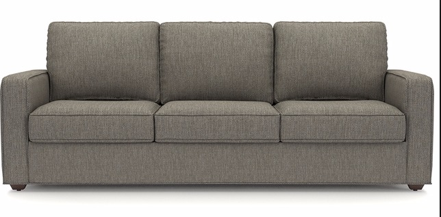 sofa for 3 person in gray - lifetime shop